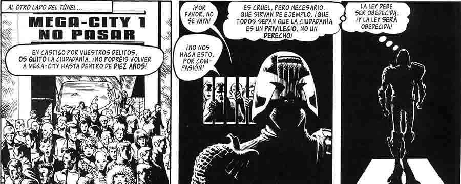 Juez Dredd: apuntes para una historia social de la distopía