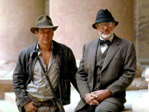 Indiana Jones y Henry Jones