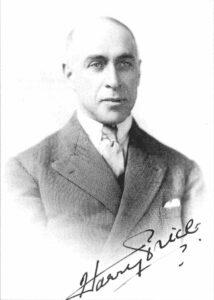 Harry Price - Foto autografiada