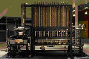 Maquina de Babbage construida