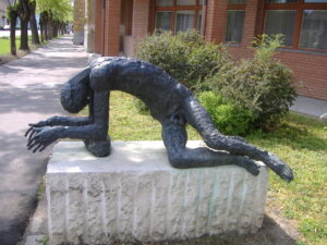Statue of the Tired Man