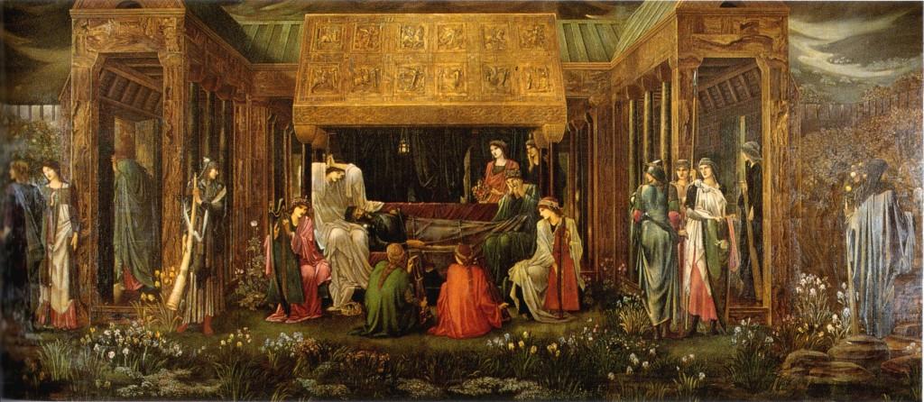 The Last Sleep of Arthur in Avalon - Burne-Jones