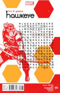 Portada Hawkeye numero 15