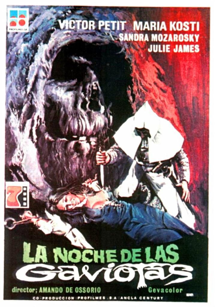 Poster La noche de las gaviotas