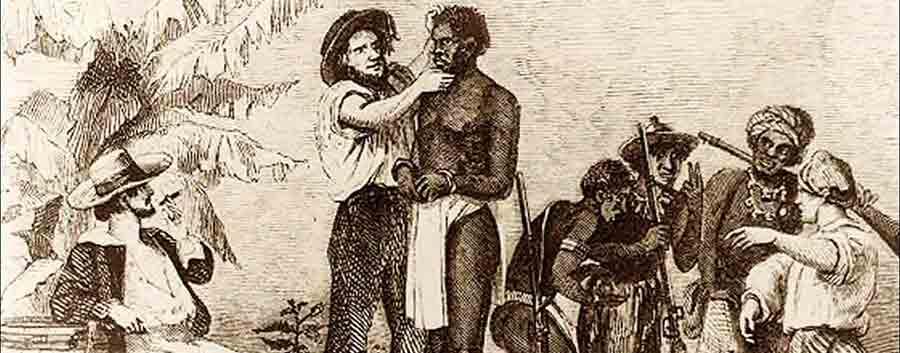 ahora indio esclavitud