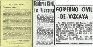 Huelga del 47 en Bilbao