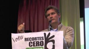 Benito Muros en campaña con Recortes Cero
