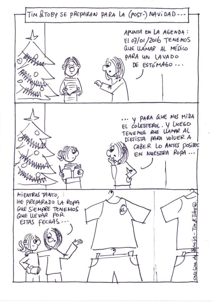 Tim & Toby - Post Navidad