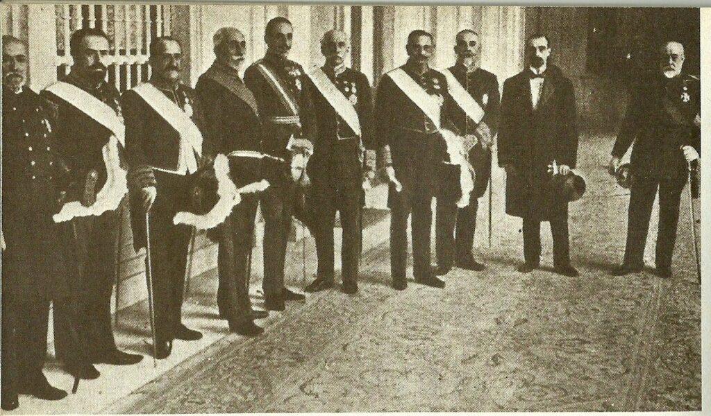 43 Gobierno de Alfonso XIII,  22 marzo 1918 preside Antonio Maura