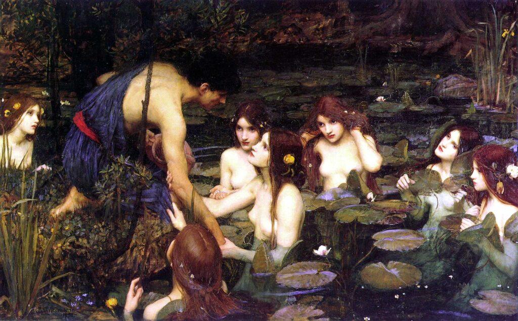 Waterhouse - Hylas y las ninfas