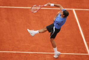 Federer remata