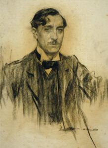 Ramiro de Maeztu por Ramon Casas