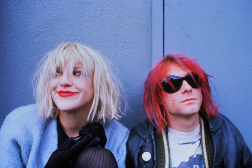Courtney y Kurt Cobain