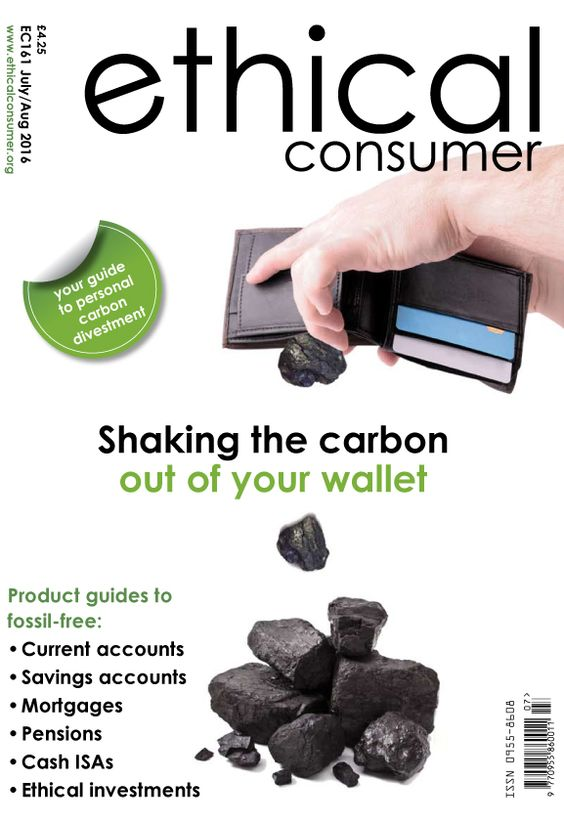 Ethical Consumer Cover