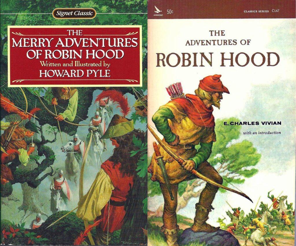 Portadas de libros de Robin Hood