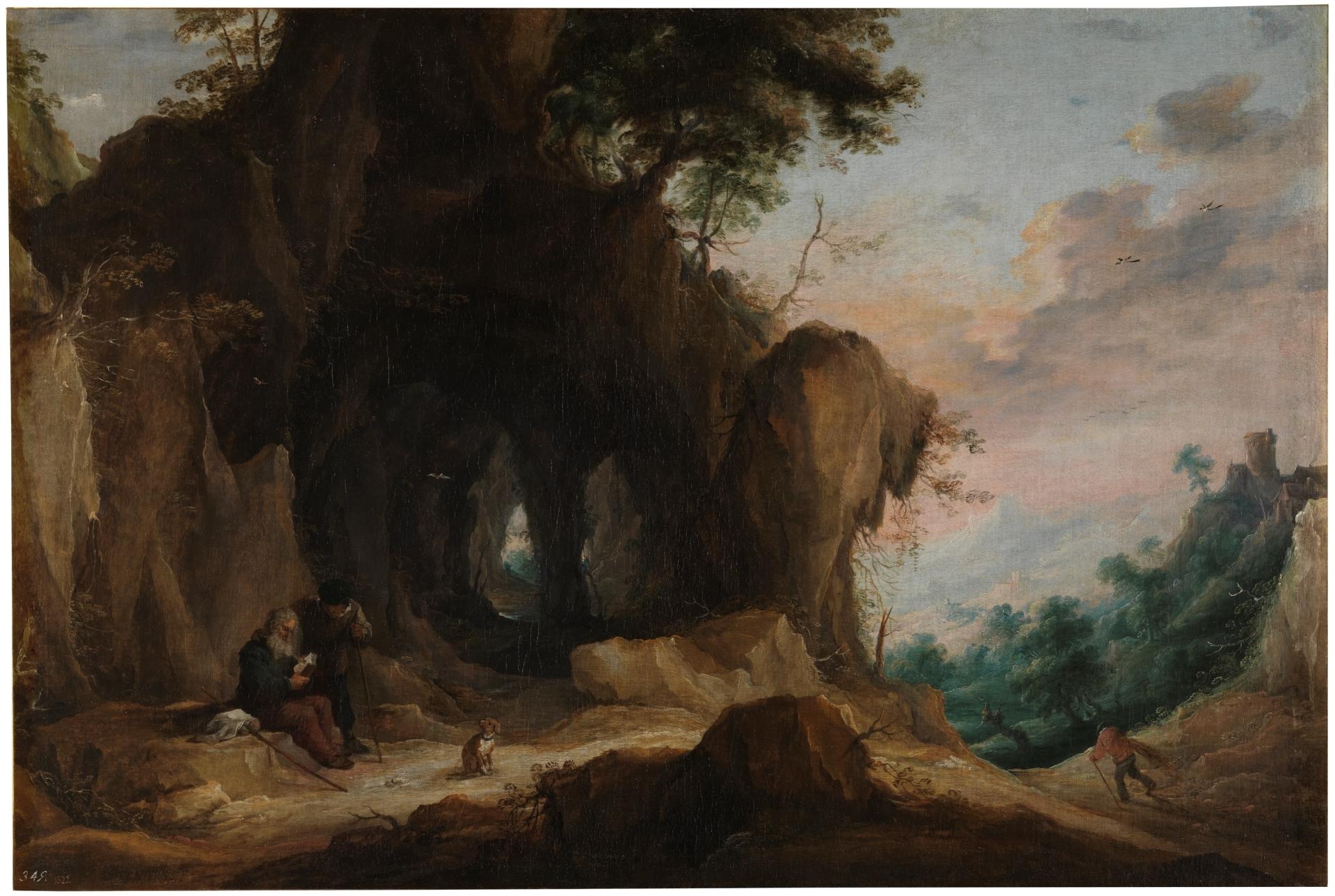 paisaje-con-un-ermitano