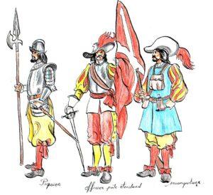 soldados-de-tercio-de-mediados-del-xvii