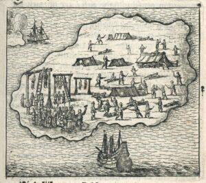 Grabado del Batavia