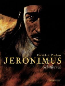 Portada Jeronimus comic Dabitch Pendanx