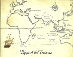 Ruta del Batavia