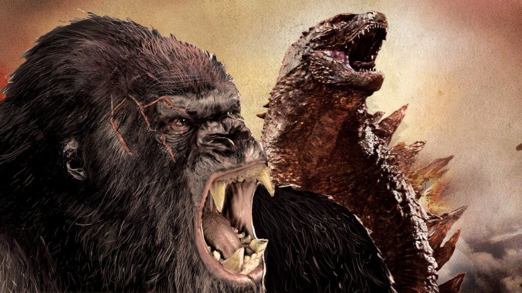 King Kong Godzilla monsterverse