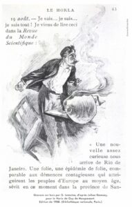 Ilustracion de El Horla s. XX