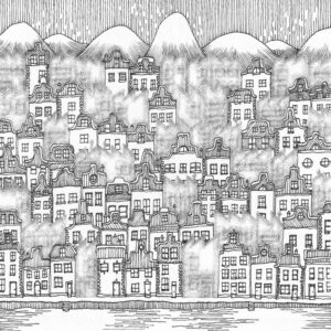 The City and The City drawing