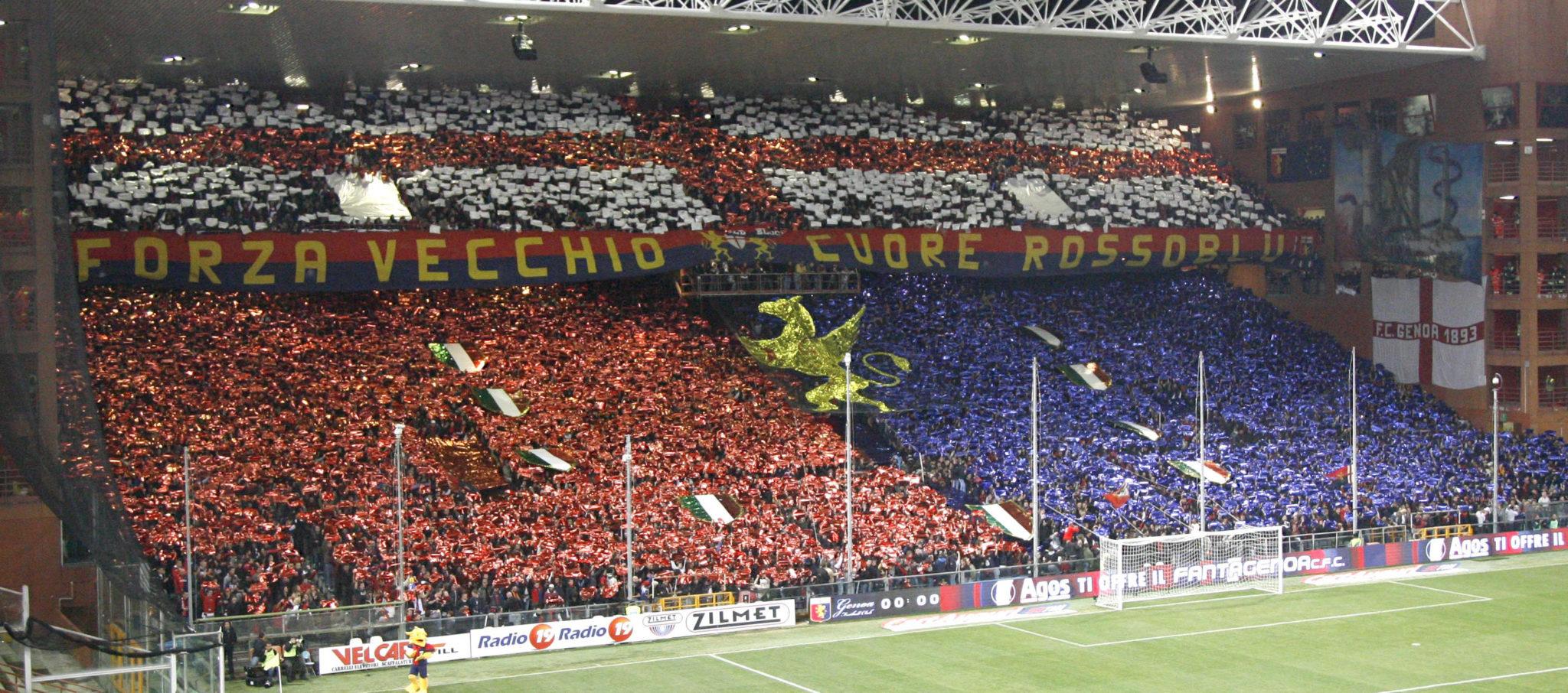 Gradinata Nord di Marassi, Ultras Genoa - La Soga   Revista Cultural